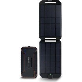 Powertraveller Extreme Charger 12000mAh + Solar Black